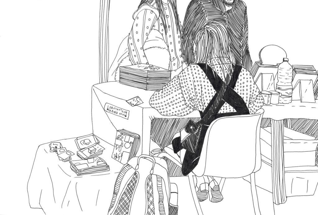 Zeichnung von Diana Pereira Ribeiro